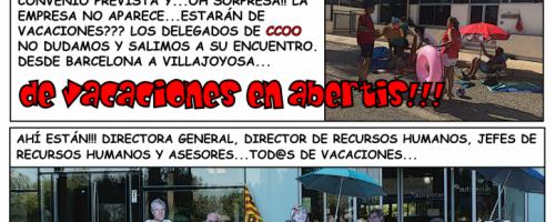 VACACIONES EN ABERTIS. Los negociadores se van de vacaciones (parte I)