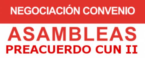 ASAMBLEAS PREACUERDO II CONVENIO COLECTIVO DE LA UNaAE