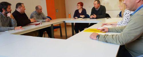CCOO SE REUNE CON LA CONSELLERIA DE EMPLEO Y EL GRUPO POLÍTICO COMPROMÍS DE LA COMUNIDAD VALENCIANA