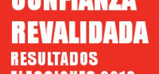 CONFIANZA REVALIDADA – ELECCIONES SINDICALES